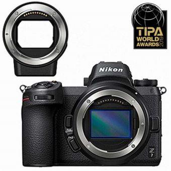 Hybride Nikon Z7 Noir + Bague d adaptation pour objectifs Nikkor F ... 85278b83ca57