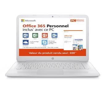 Pack PC Ultra-Portable HP Stream 14-cb041nf 14