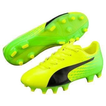 Football Jaunes Et 4 Taille Vertes Enfant Evospeed 31 Chaussures 17 De Puma WEHI29D