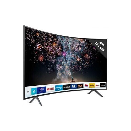 "TV Samsung UE 49 RU 7305 4K UHD 49"""""""" Incurvé - Téléviseur LCD 44"" à 55""."