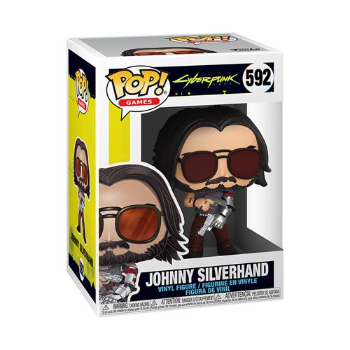 Figurine Funko Pop Games Cyberpunk 2077 Johnny Silverhand with guns