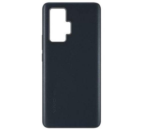 Coque cuir pour smartphone Vivo X51 Noir