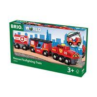 Train des pompiers Brio