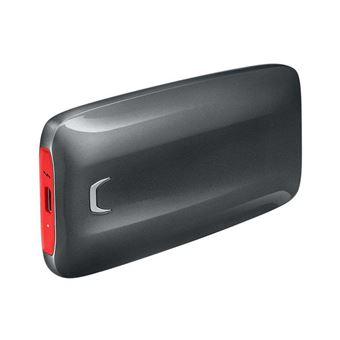 Disque SSD Externe Samsung X5 500 Go Noir et Rouge