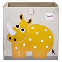 Cube de rangement jouets 3 Sprouts Rhino