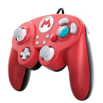 Manette Nintendo Switch filaire Pro Super Smash Bros Super Mario
