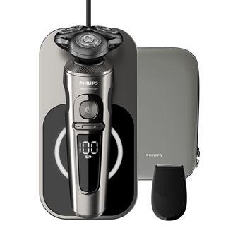 Rasoir électrique Philips Prestige Series 9000 avec plateau de charge Qi