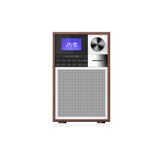5 sur radio bluetooth grundig wtr2000bt bois radio achat prix fnac. Black Bedroom Furniture Sets. Home Design Ideas
