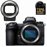 Nikon Z6 Hybride Behuizing Zwart + Adapterring voor Nikkor F Lens