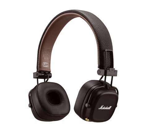 Casque sans fil Bluetooth Marshall Major IV Marron Exclusivité