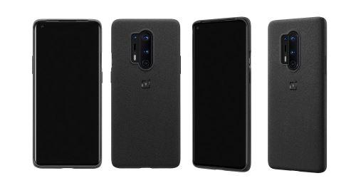 Coque de protection OnePlus 8 Pro Sandstone Bumper Noir pour Smartphone OnePlus Pro 8