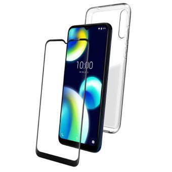Coque pour Wiko View 4 Lite Transparente Silicone 3 /× Verre tremp/é Protection /écran Ultra Souple TPU /Étui Protecteur Housse Clair TPU Bumper Case Anti Choc Case Cover