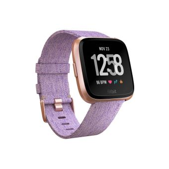 FITBIT VERSA WATCH SPECIAL EDITION LAVENDER WOVEN