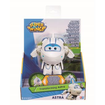 Figurine articulée Super Wings Transforming Astra 12 cm