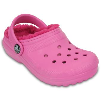 Kids' Fuzz Sabots Clog Lined Crocs Enfants Party Classic Roses qwnnAfHS