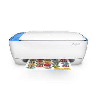 HP DeskJet 3639 WiFi Multifunctioneel Printer Wit en Blauw Compatibel met Instant Ink