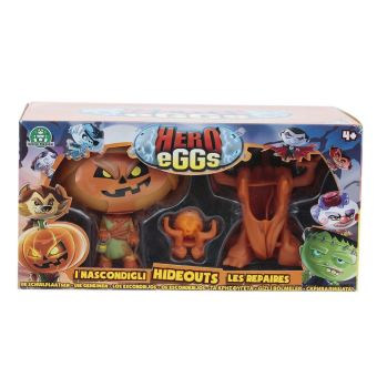 Coffret Hero Egg Aire de jeu et 1 Hero eggs Jack