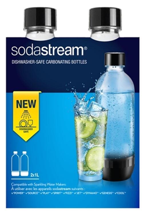 Pack 2 bouteilles Sodastream de gazéification 1L