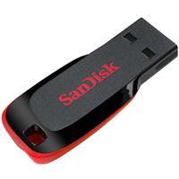 SanDisk Cruzer Blade - USB-flashstation - 128 GB