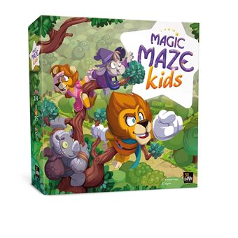Magic Maze Kids Jeu-d-ambiance-Sit-Down-Magic-Maze-Kids