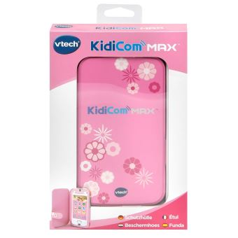 Etui De Protection Pour Kidicom Max Rose Vtech Jouet Multimedia