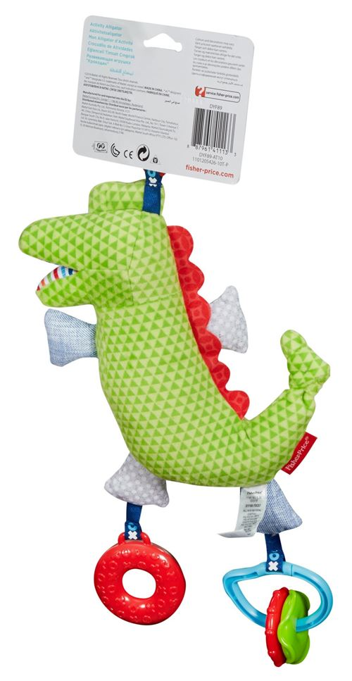 D'éveil Jeu Jouet D'activité Crocodile Fisher Price PkuiXZ