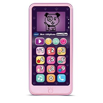 Telephone Interactif Vtech Emoti Fun Rose