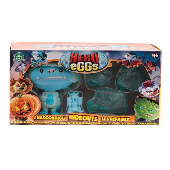 Coffret Hero egg Aire de jeu et 1 Hero eggs Frosty