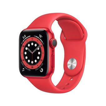 Photo de apple-watch-series-6-40mm-boitier-aluminium-productred