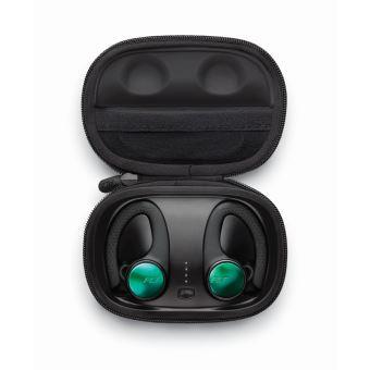 Ecouteurs sport intra-auriculaires sans fil True Wireless Plantronics Backbeat Fit 3200 Noir