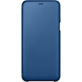 SAMSUNG A605 GALAXY A6 PLUS FLIP WALLET BLUE