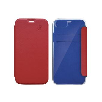 BEETLE CASE FOLIO CRYSTAL IPHONE 6/7/8 LEATHER RED