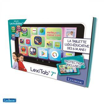 Tablette ludo-éducative Lexibook LexiTab 7'' Blanc et Vert