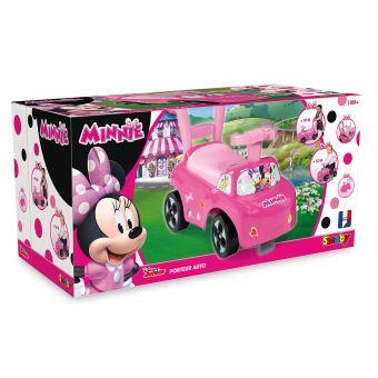 Auto Minnie Porteur Auto Smoby Smoby Rose Minnie Rose Porteur Porteur RLj4A5