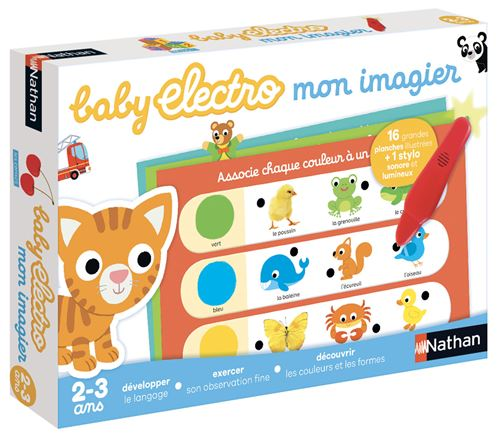 Jeu de questions-réponses Baby Electro Mon Imagier Diset