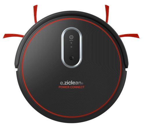 Aspirateur robot E.ziclean Power Connect Noir et Rouge