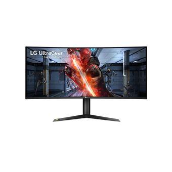 """LG UltraGear 38GL950G-B - LED-monitor - gebogen - 34"""" - 3440 x 1440 Ultra WQHD - IPS - 400 cd/m² - 1000:1 - 5 ms - HDMI, DisplayPort - zwart"""