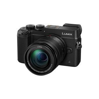 Pack Fnac Hybride Panasonic Lumix GX8 Boîtier Nu Noir + Objectif 12-60 mm + carte mémoire SD 8 Go + Fourre-tout