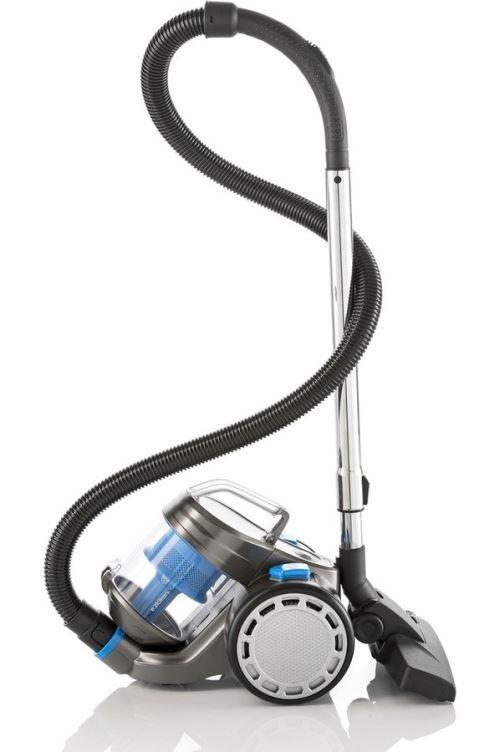 Aspirateur traîneau sans sac E.ziclean Turbo One Confort 700 W Bleu et Gris
