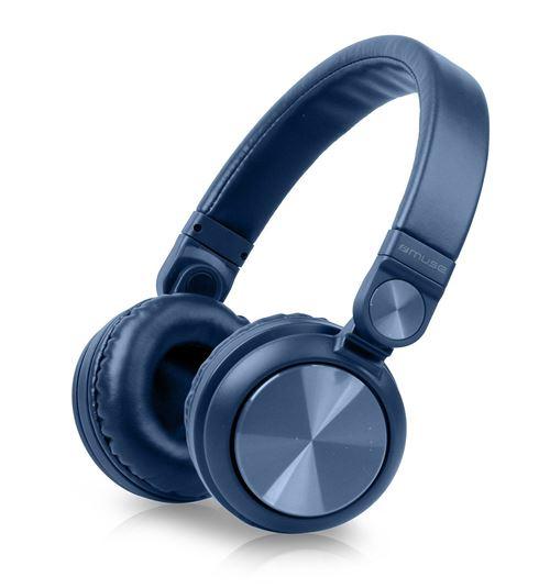 Casque stéréo Bluetooth Muse M-276 BTB Bleu