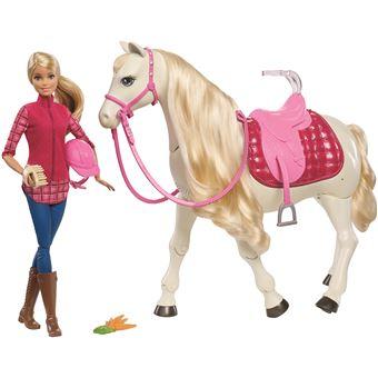Poupée Barbie avec Cheval de rêve