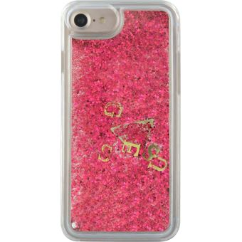 iphone 6 coque paillette liquide