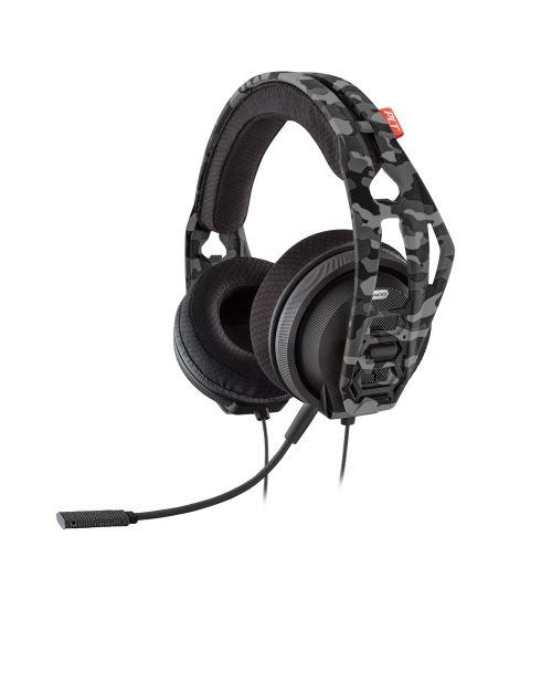 Casque Gaming Nacon Plantronics RIG 400HX Stéréo Filaire Camouflage pour Xbox One