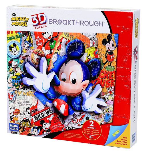 Breakthrough Level Two Mickey Puzzle