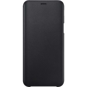 Etui Samsung Flip Wallet Noir pour Galaxy J6