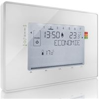Thermostat connecté programmable Somfy Filaire Blanc