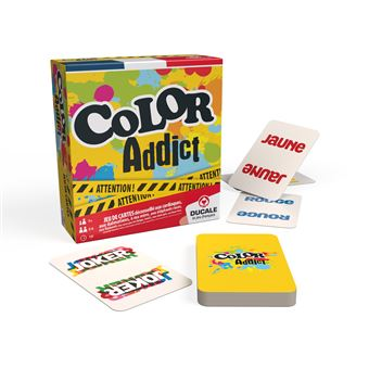Jeu d'ambiance France Cartes Color addict