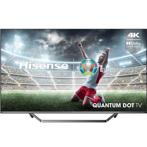 """Plus de détails TV Hisense 55U7QF 55"""" QLED 4K Smart TV Noir"""