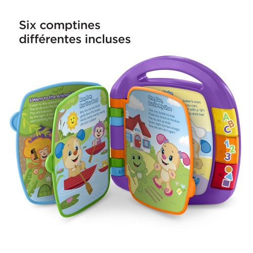 Livre Interactif Comptine Fisher Price Puppy