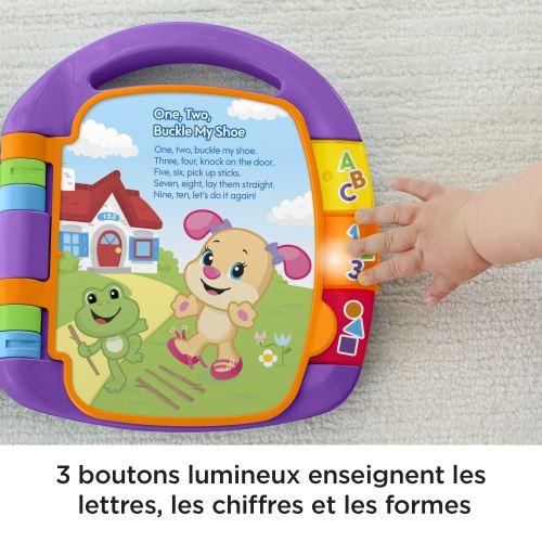 Jouet Musical Deveil Bebe Pour Apprendre En Chanson 6 Mois